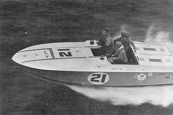 THUNDERBALLS the power boat
