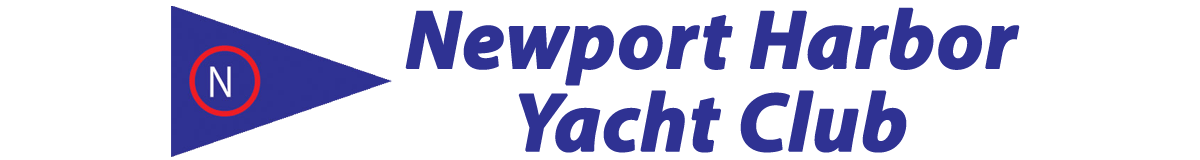 Newport Harbor Yacht Club and burgee