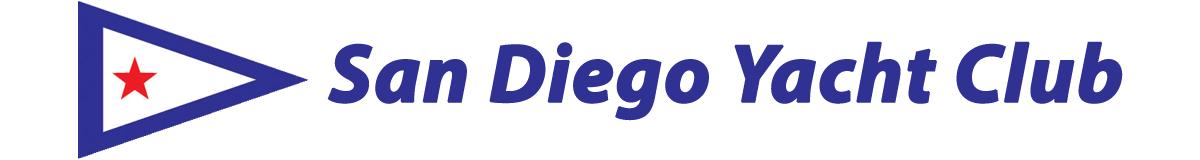 San Diego Yacht Club and burgee