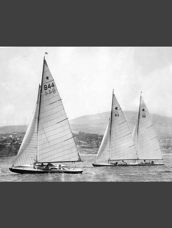 Star Class race 1932 Olympics