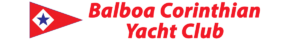 Balboa Corinthian Yacht Club and burgee