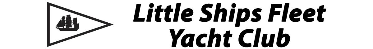 Little Ships Fleet Yacht Club and burgee