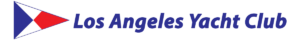 Los Angeles Yacht Club and burgee