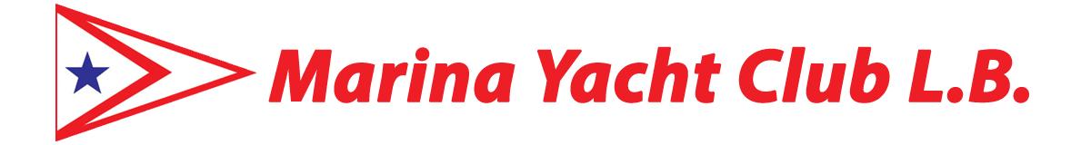 Marina Yacht Club L.B. and burgee