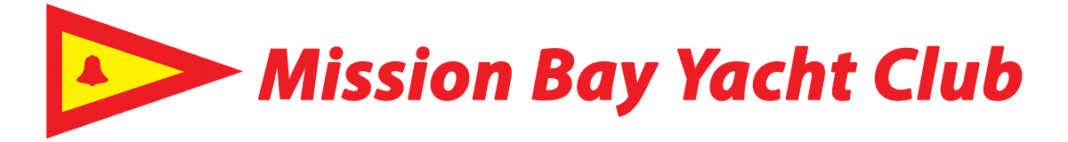 Mission Bay Yacht Club and burgee