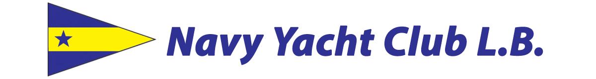 Navy Yacht Club L.B. and burgee