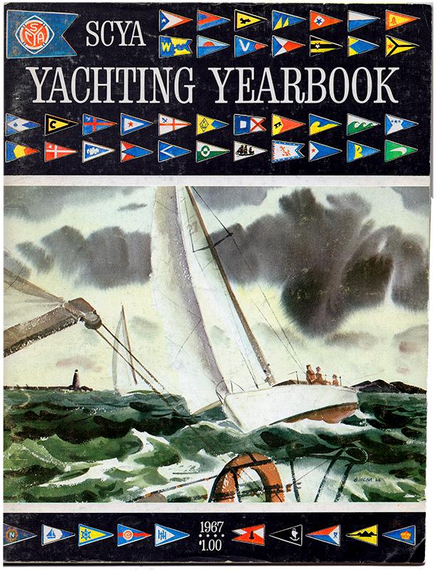 SCYA Yachting Yearbook 1967