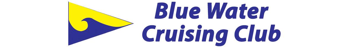 Blue Water Cruising Club and burgee