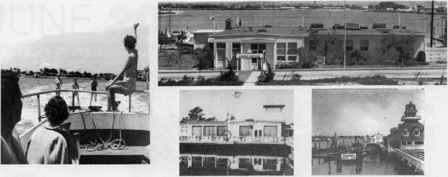 Collage of historical YC photos