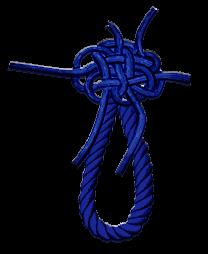 A knot under construction